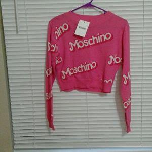 Moschino pink Barbie top